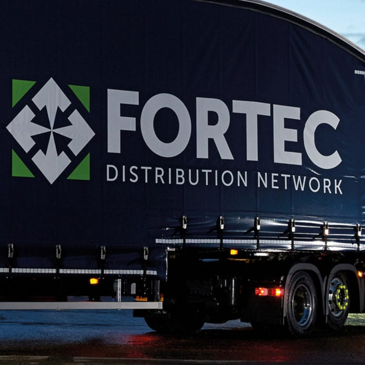 We deliver for Fortec Distribution