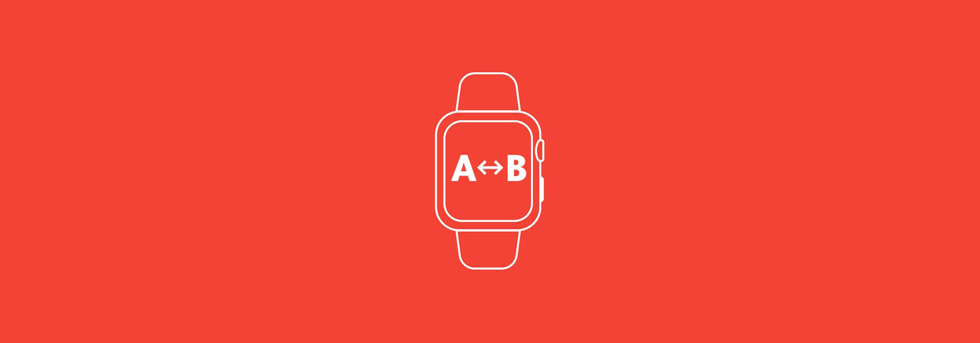 Watch app design