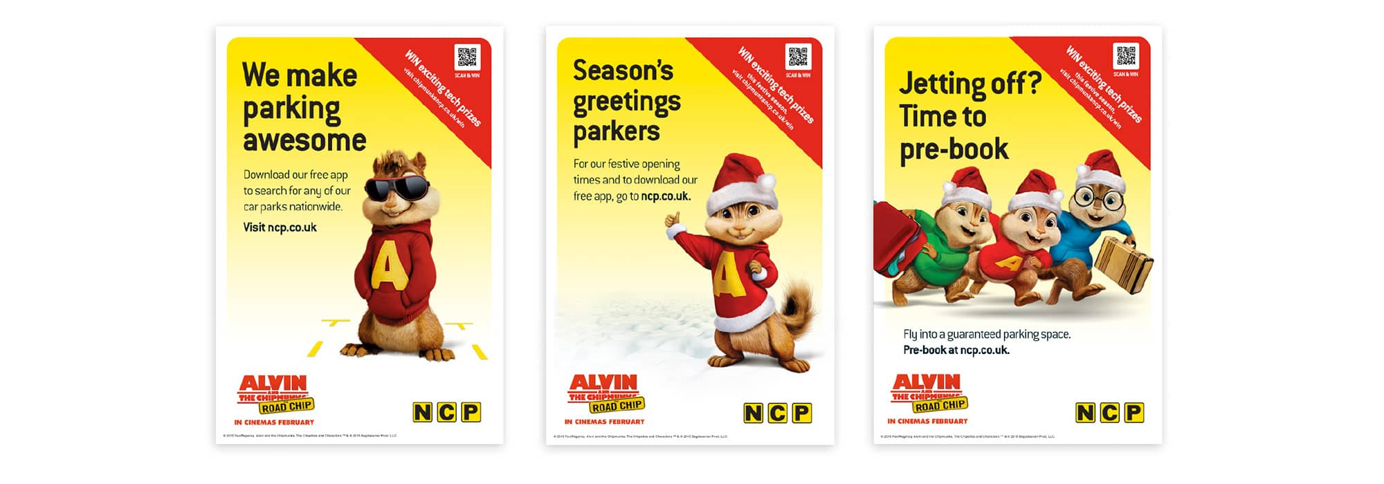 NCP Chipmunk marketing