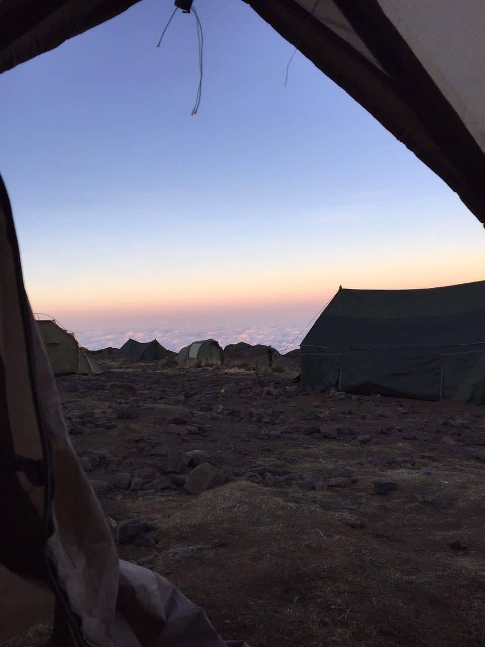 Fred's Kilimanjaro Journey 7