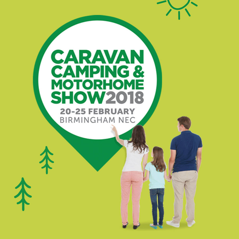 All Aboard The Caravan, Camping and Motorhome Show 2018!