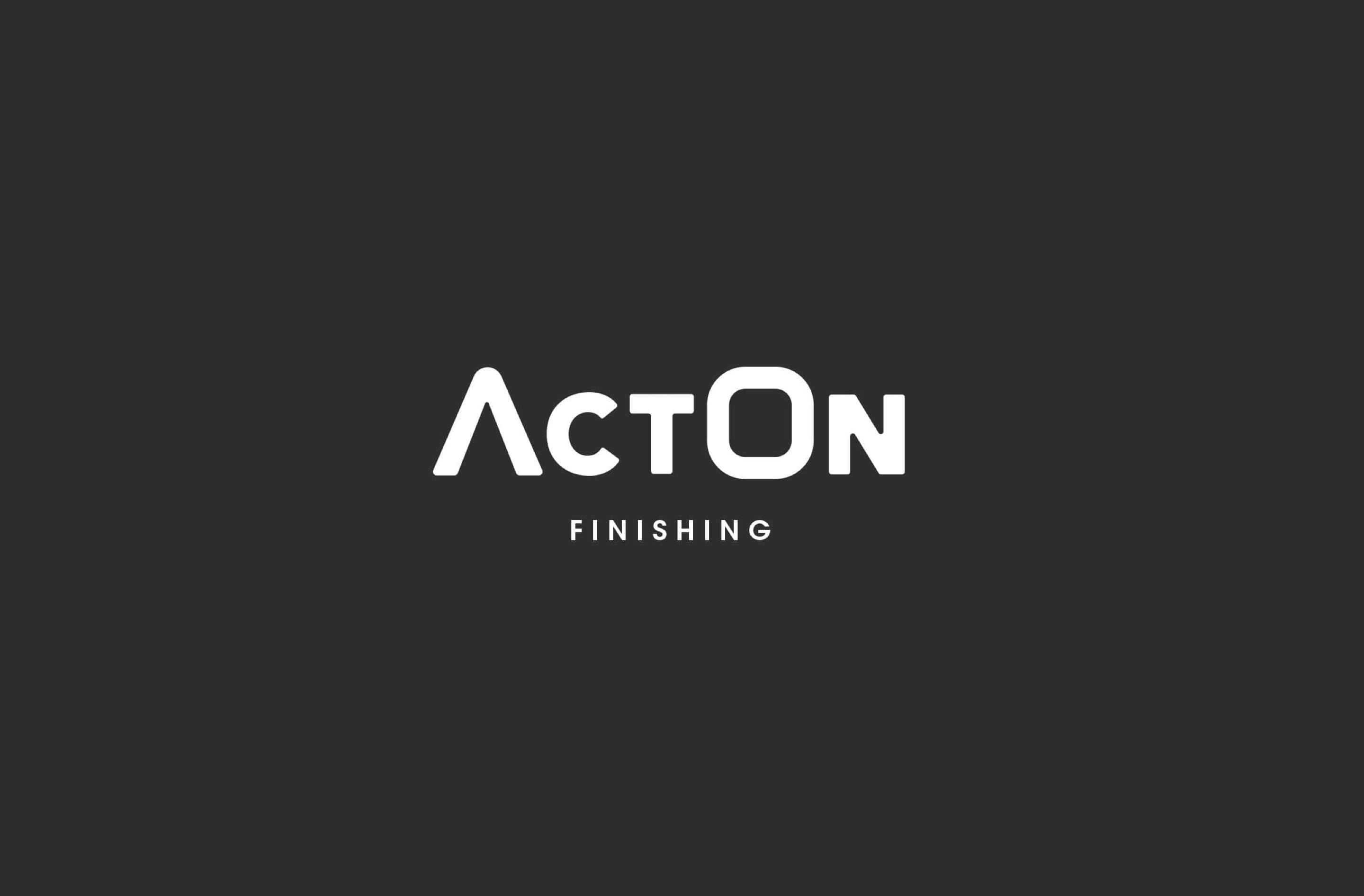 We worked closely with Acton Finishing on their new brand design