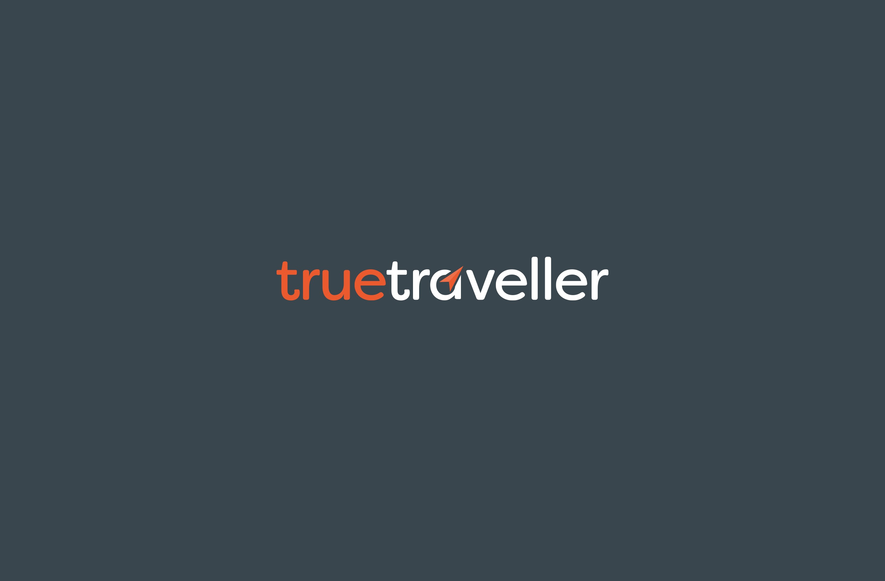 True Traveller's logo design