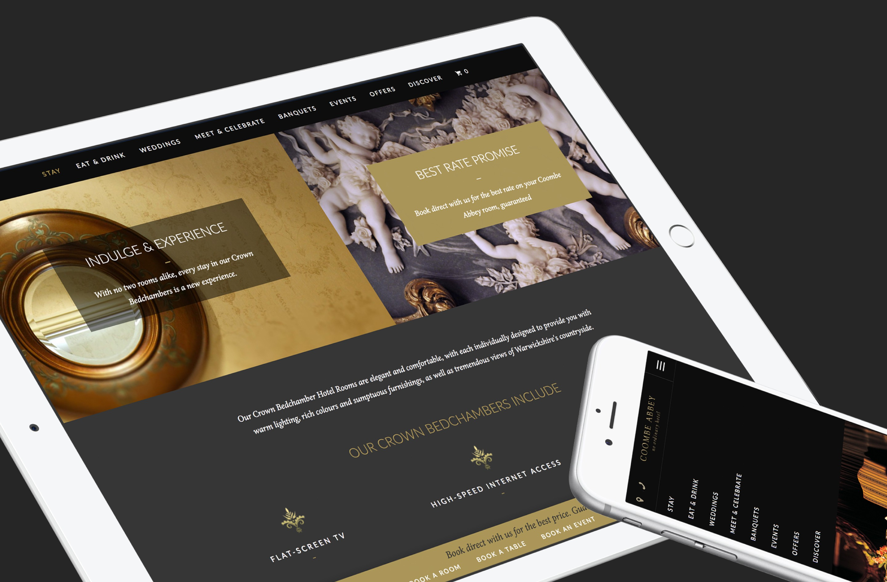 Clever content marketing helped increase coombe abbey conversions