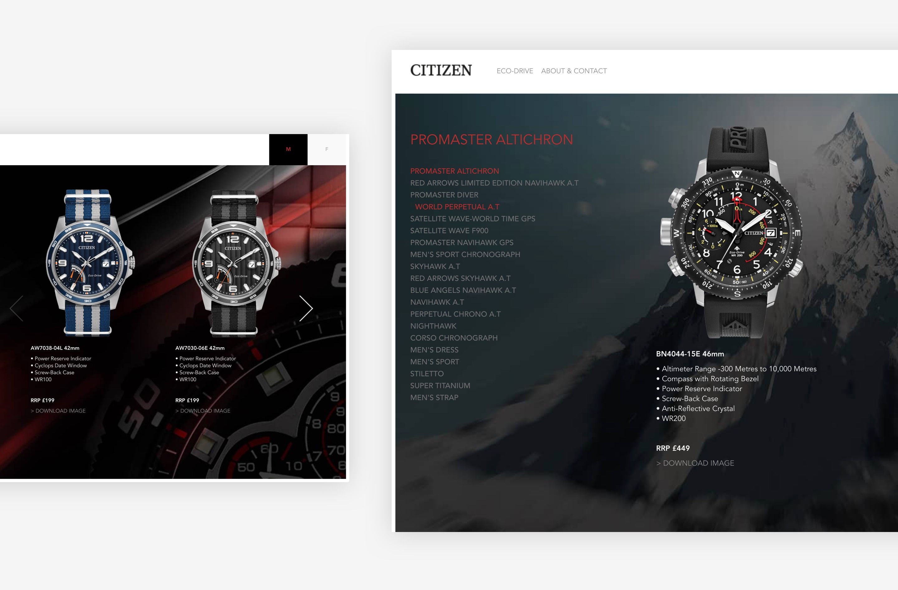 Strong imagery and product design helped a user's experience