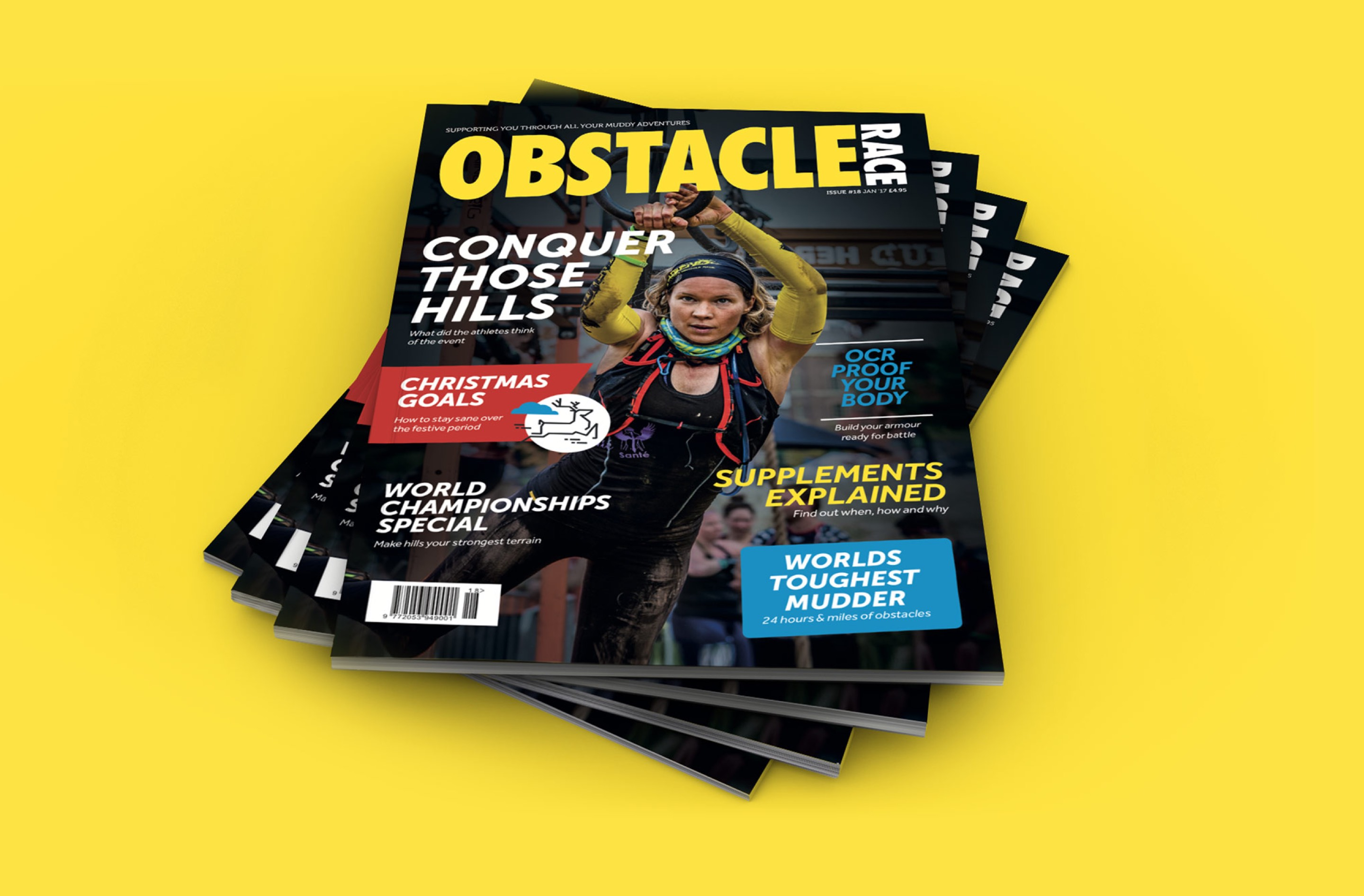We developed strong and iconic magazine branding for ORM