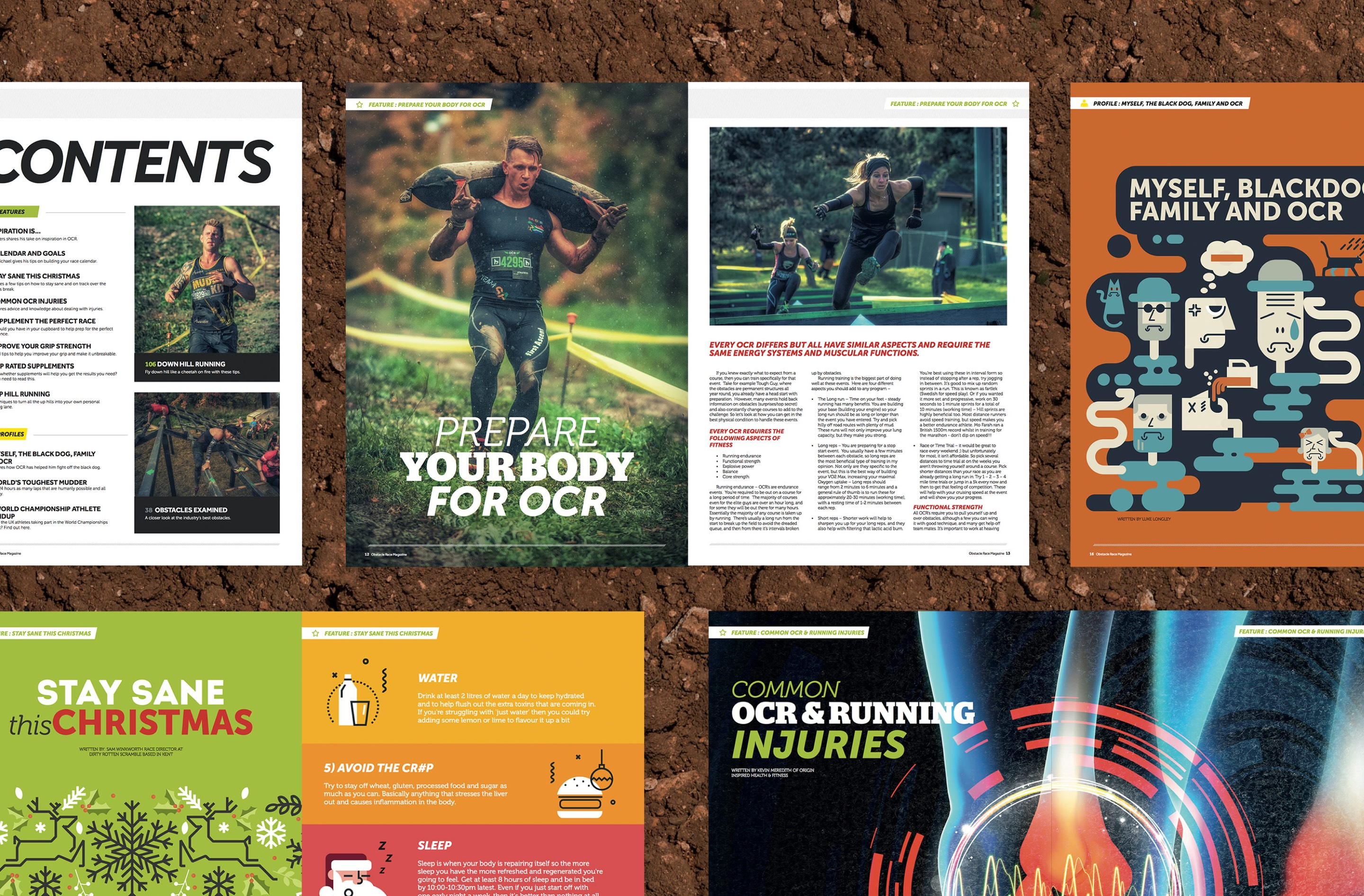 Our team created engaging magazine editorial design for the magazine