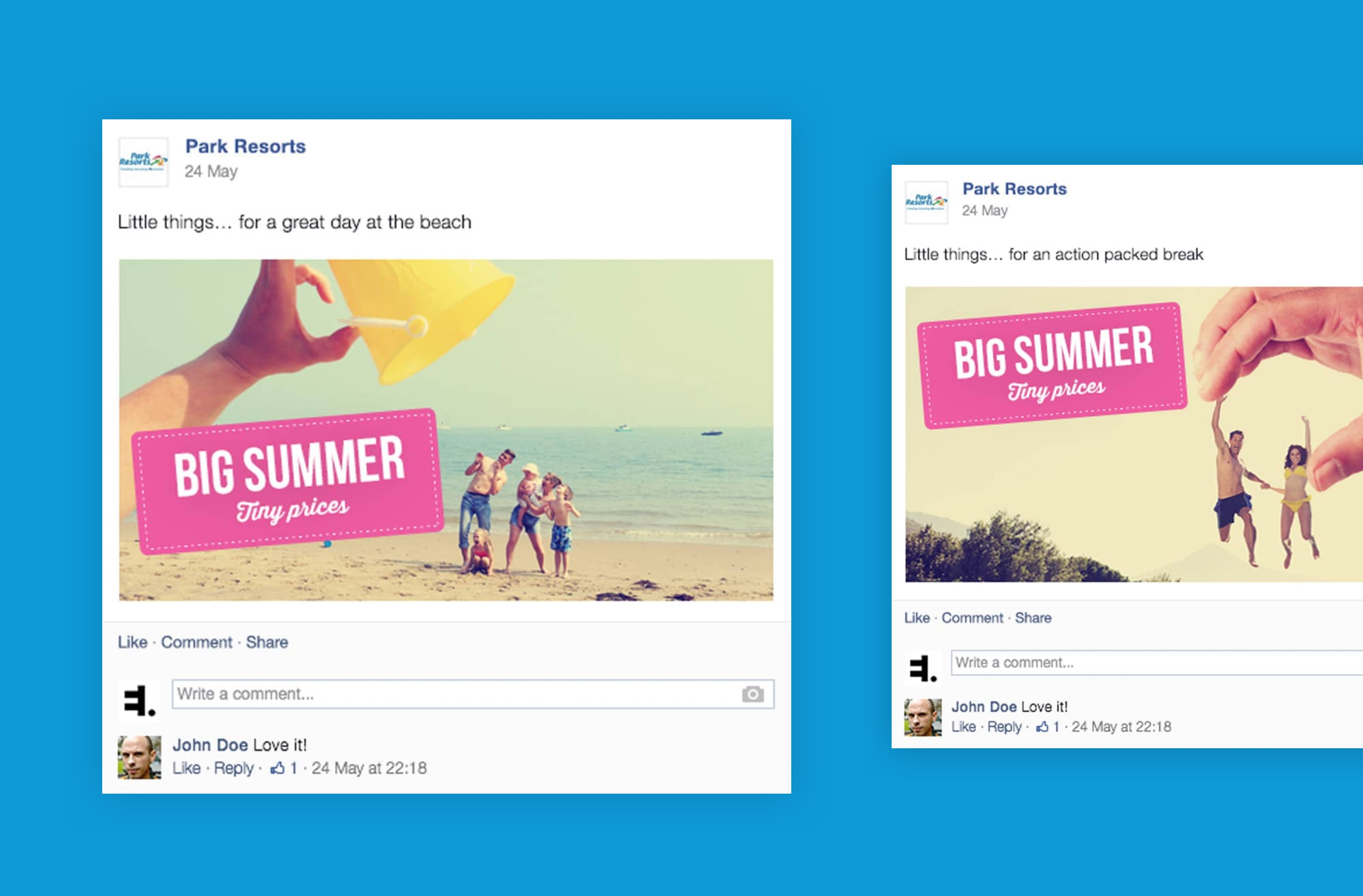 Campaign involved creating social media strategy for a competition