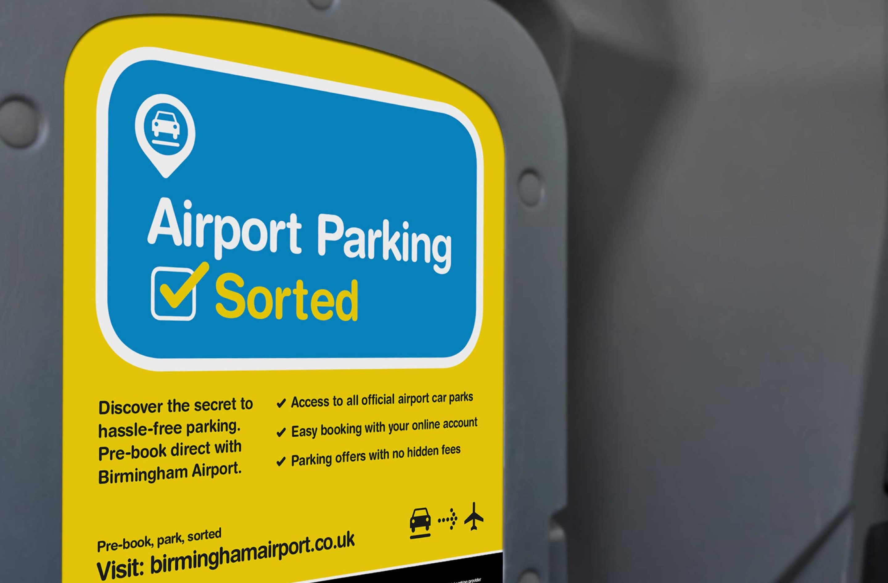 We also created in-seat promotion designs to feature inside the taxis