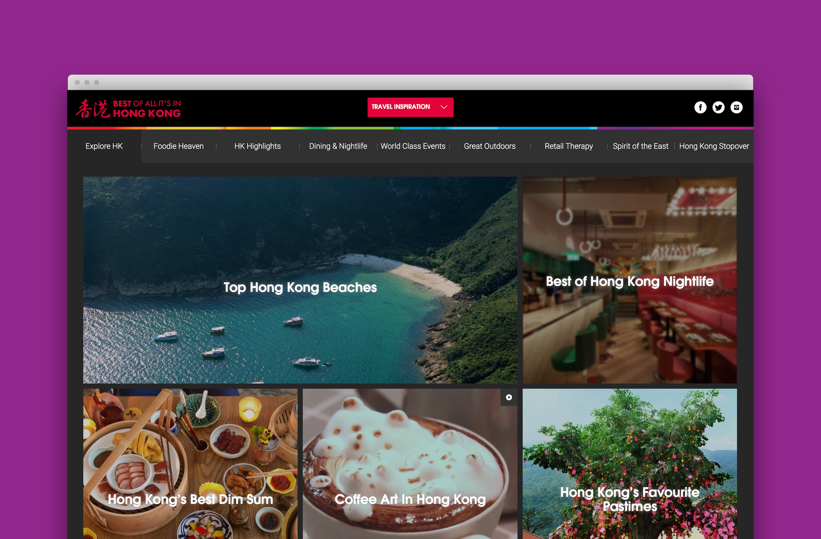 View our case study with the Hong Kong Tourism Board