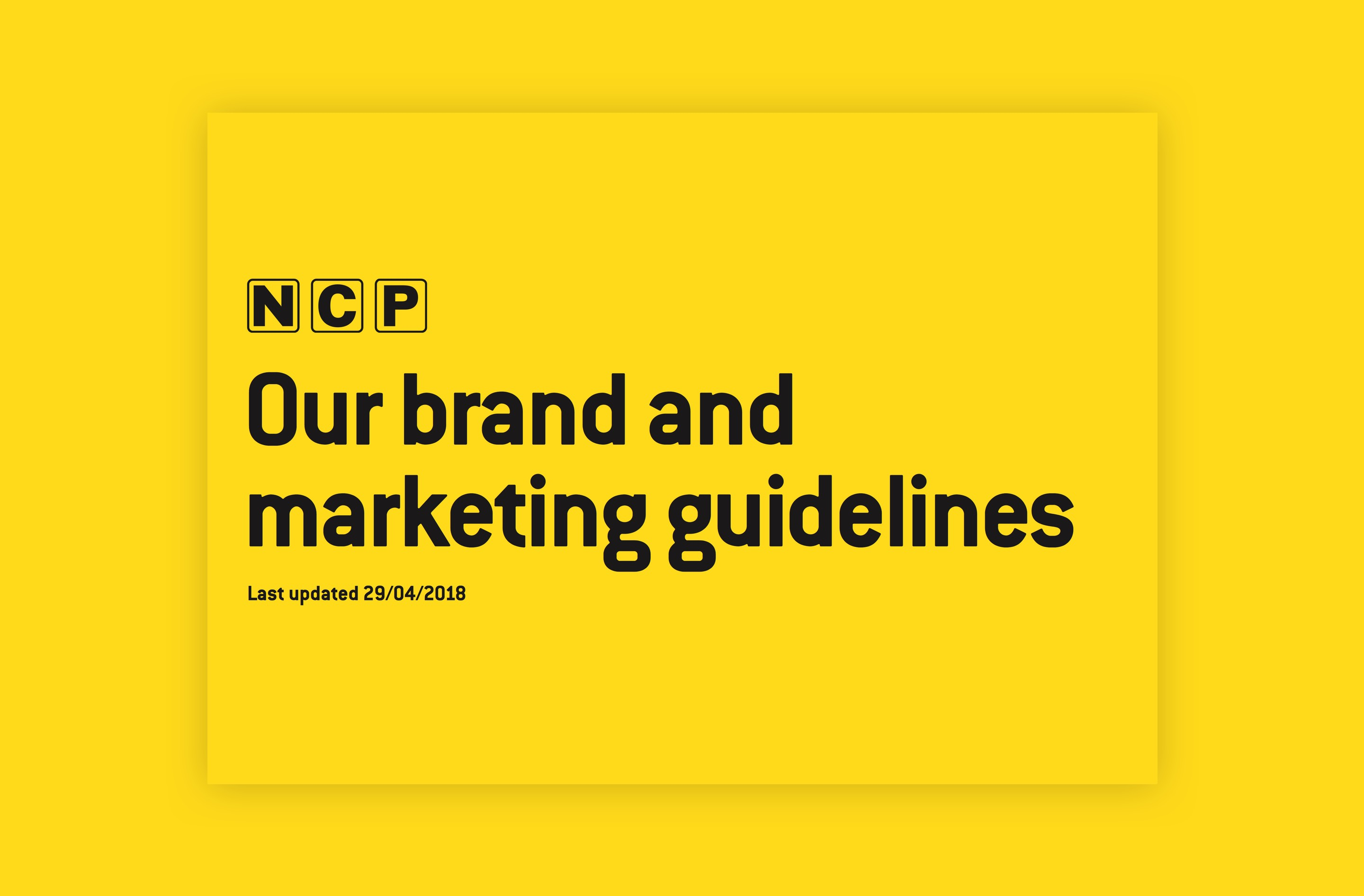 Brand research enabled thorough b2c brand guidelines