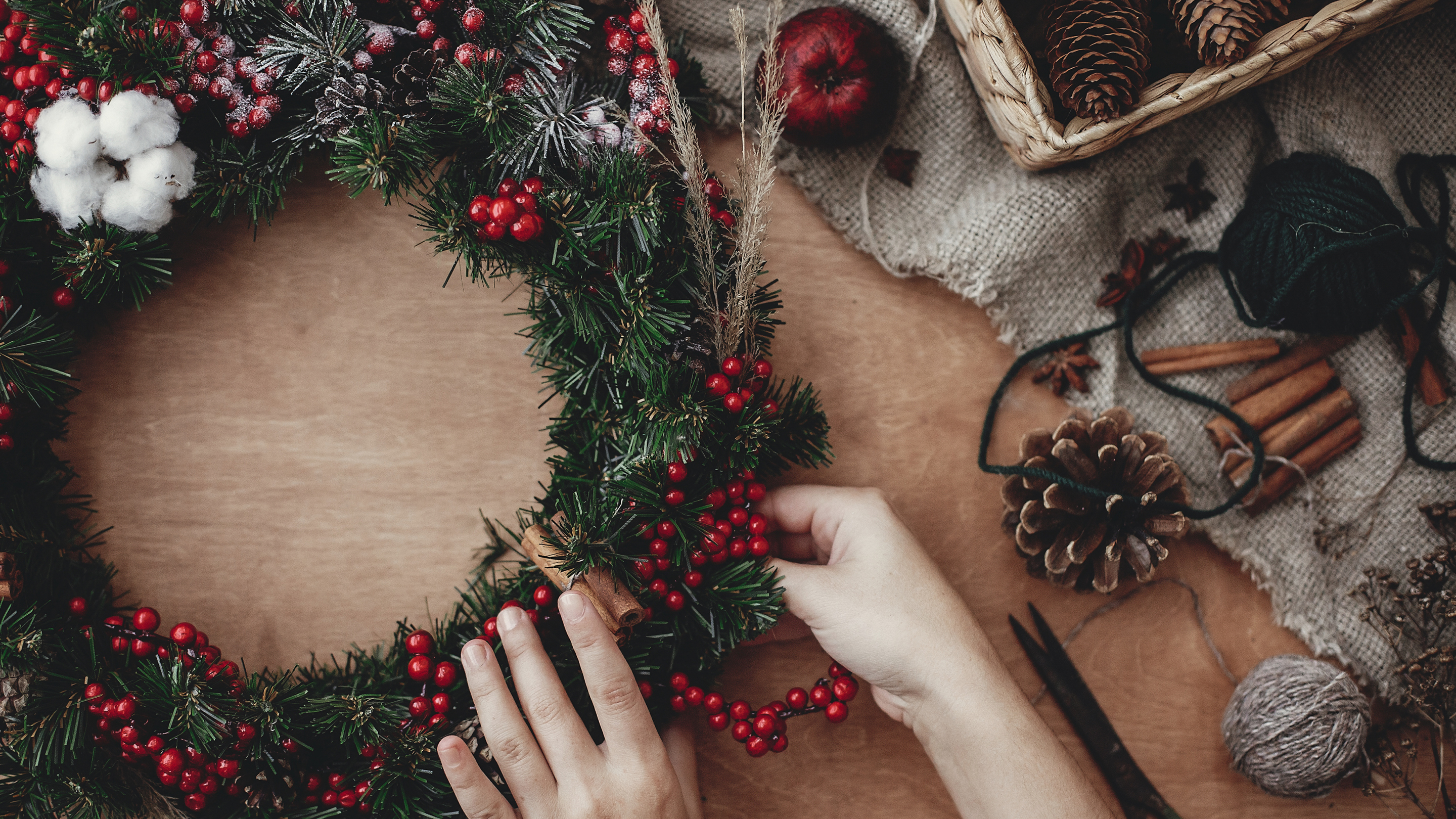 wreath making workshop coventry