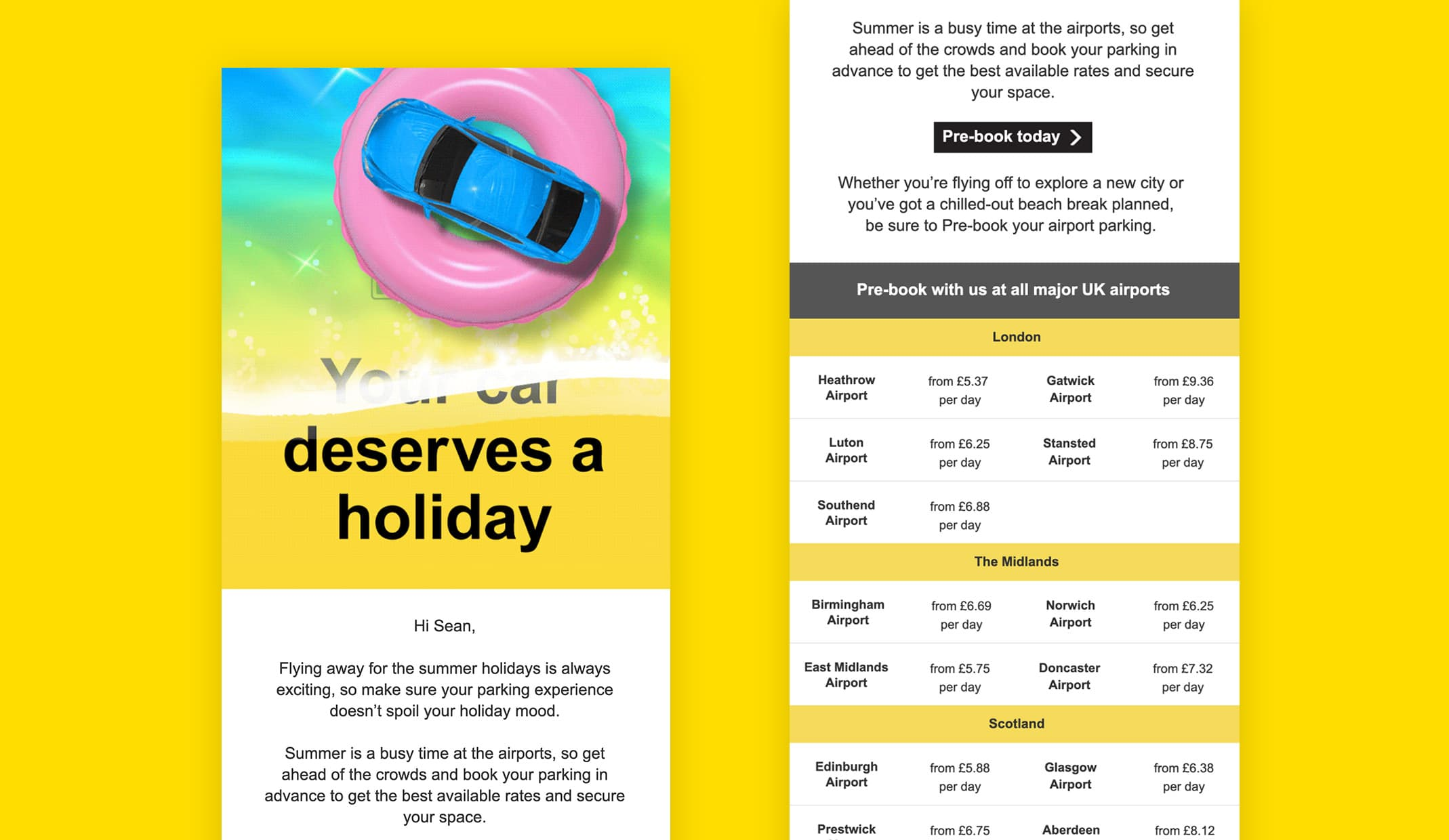 NCP Summer campaign case study