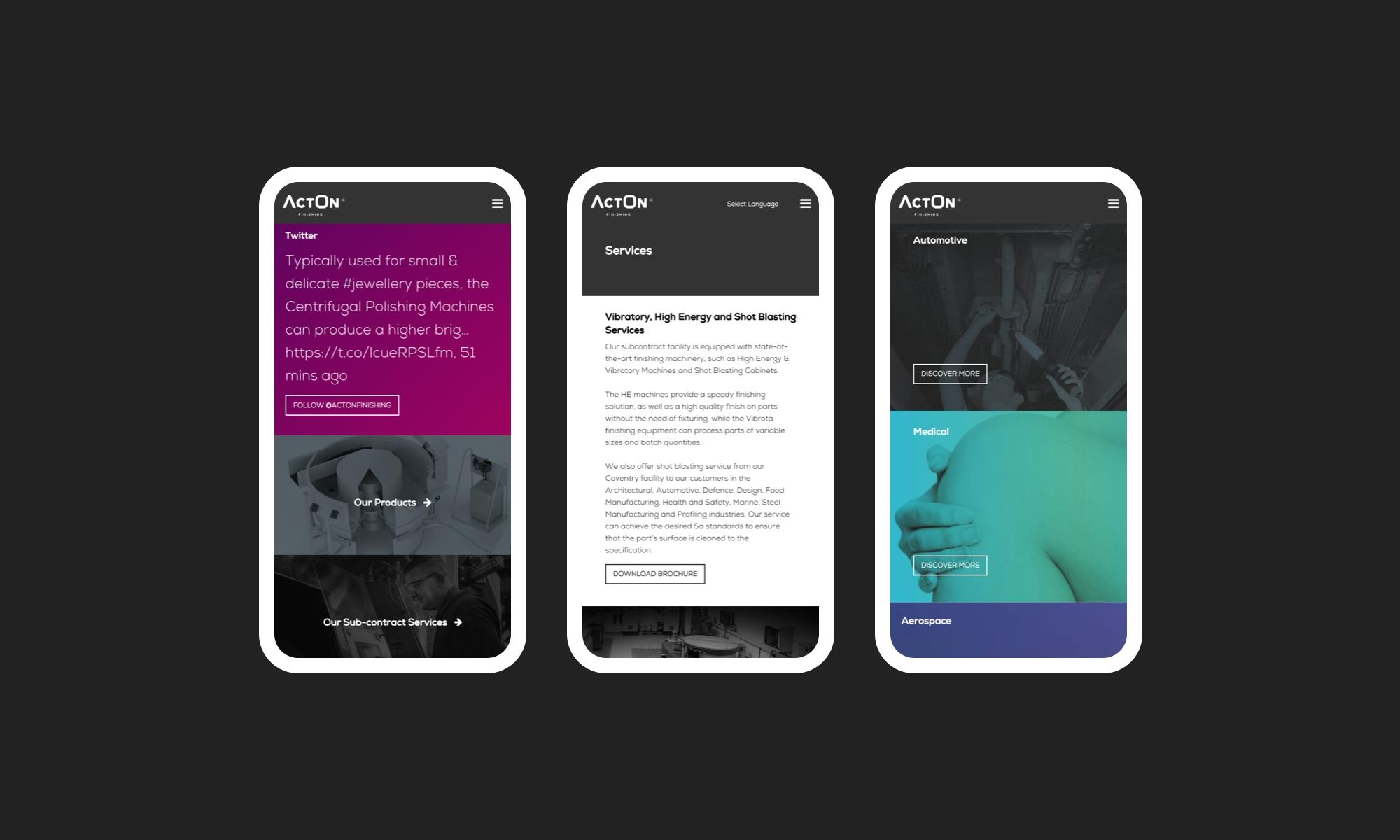 Rawww Coventry website design