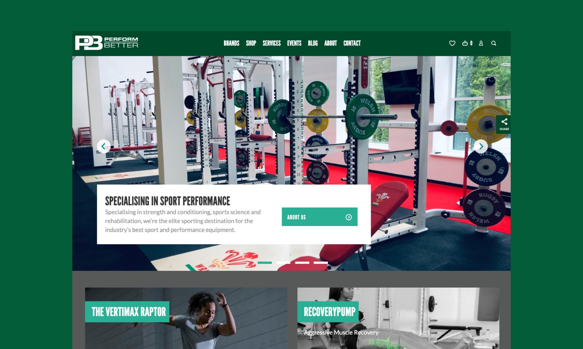Leicester website design