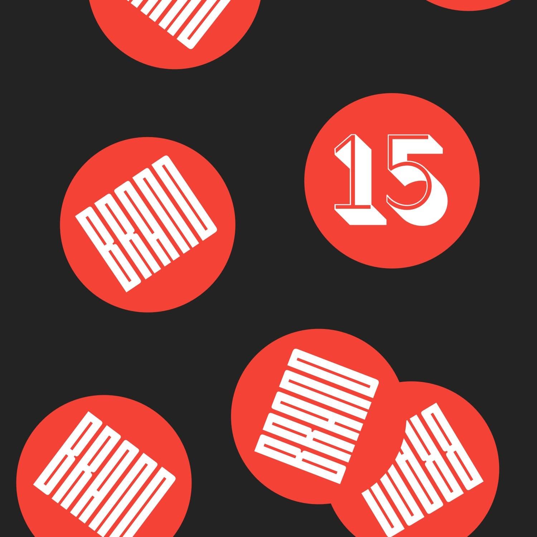 15 years of branding