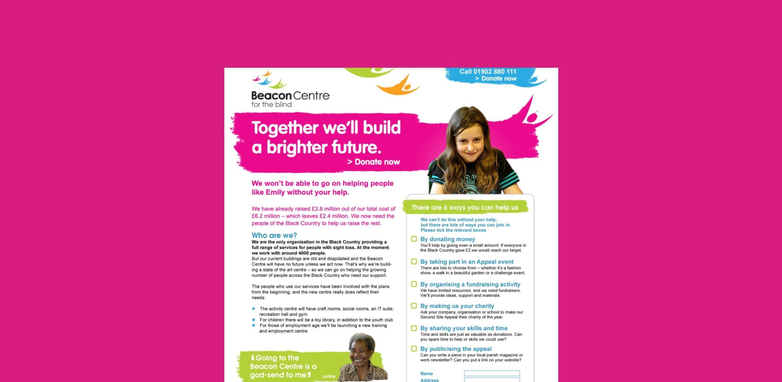 branding fundraising campaign