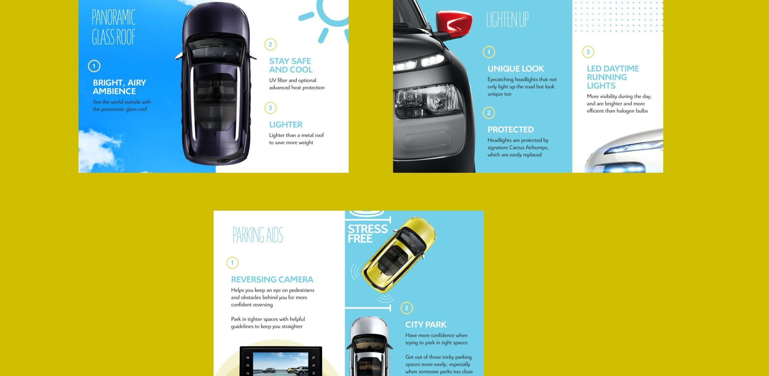 internal guide design for citroen