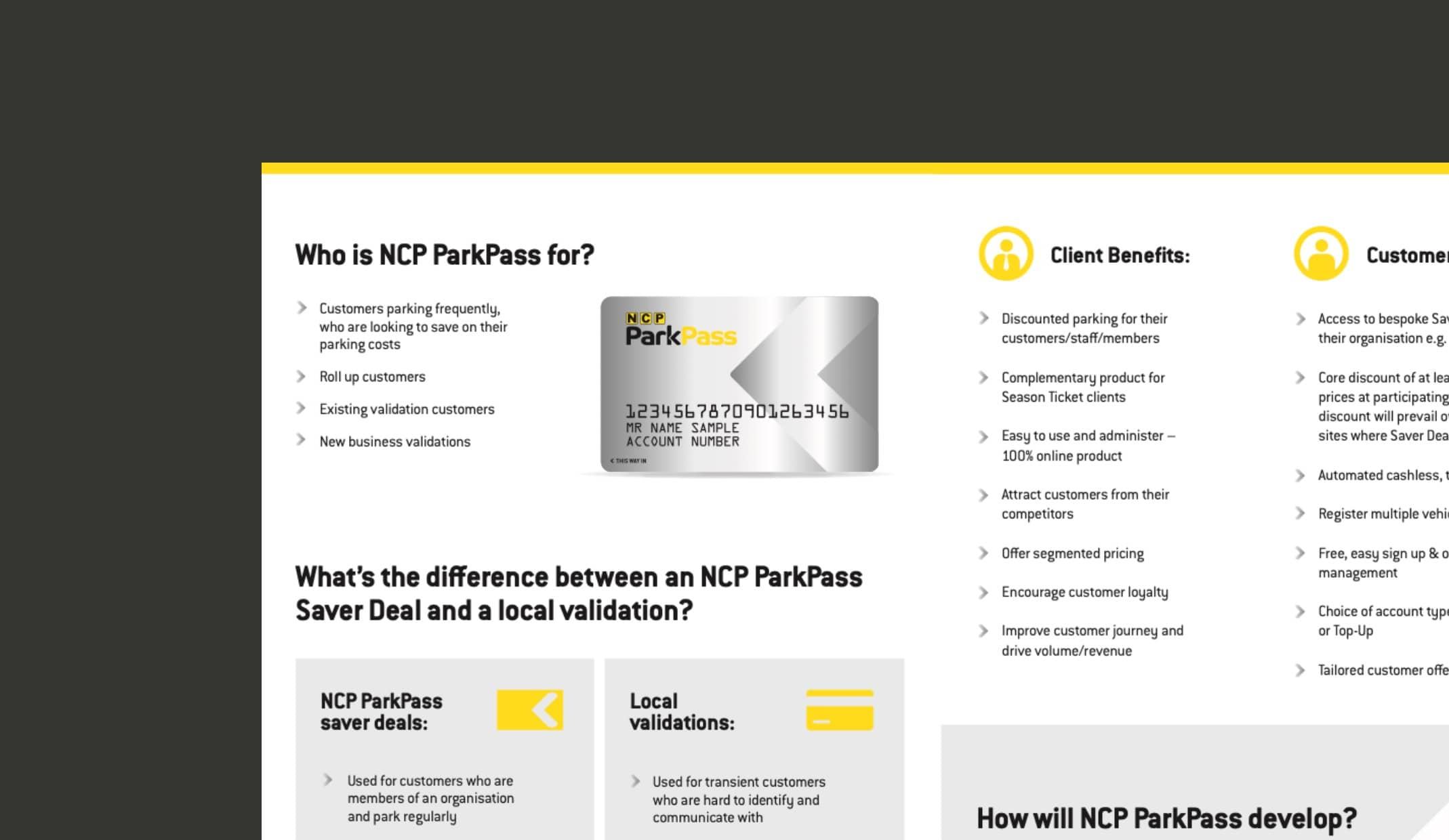 ncp parkpass branding