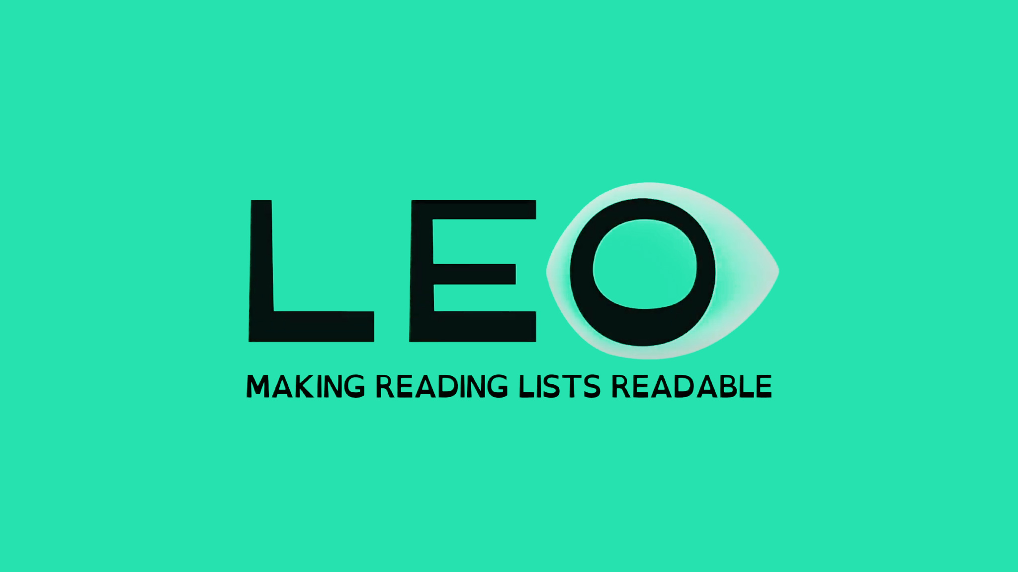 Leo reading list
